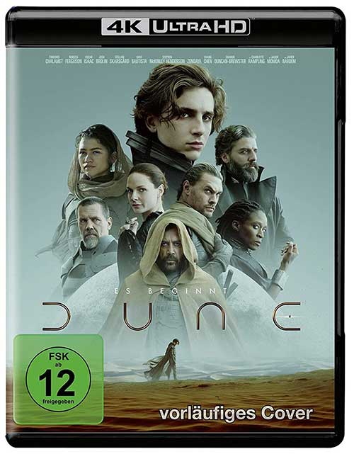 DUNE Film 2021 4K UHD Cover shop kaufen