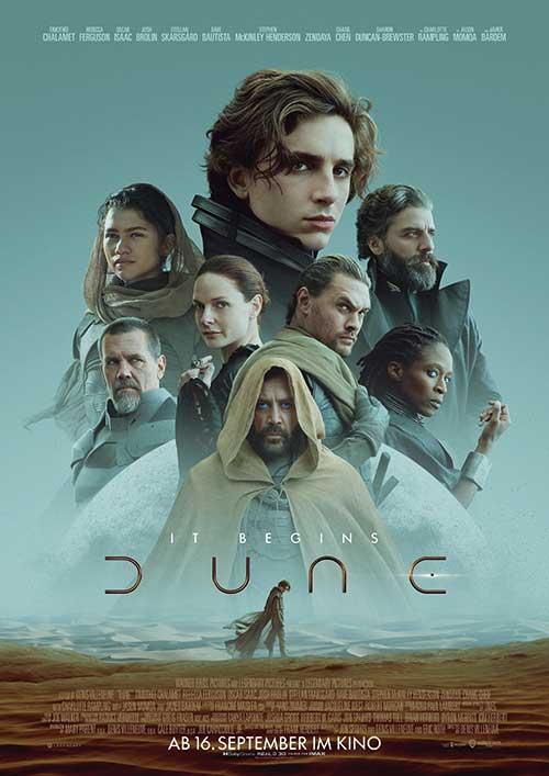 Dune Film 2021 Kino Plakat