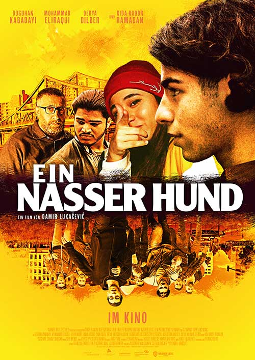 Ein Nasser Hund Film 2021 Kino Plakat