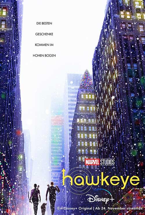 Hawkeye Serie 2021 Marvel Disney Streaming Disney Plus Plakat