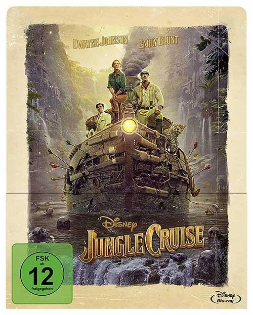 JUNGLE CRUISE Film 2021 Blu-ray Steelbook Cover Shop kaufen