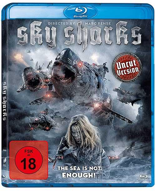 SKY SHARKS Film 2021 Blu-ray Cover shop kaufen