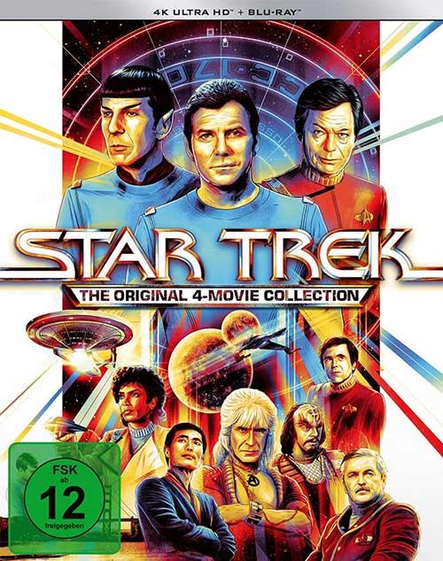 Star Trek 4K 4-Movie Collection 4K UHD Cover shop kaufen