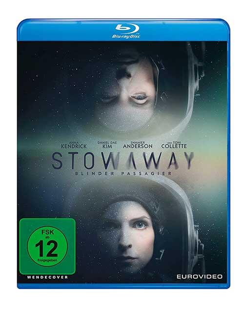 STOWAWAY - Blinder Passagier Film 2021 Blu-ray COver shop kaufen