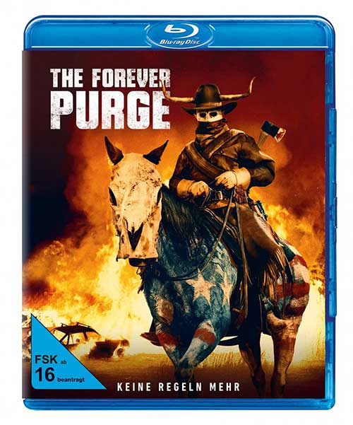 The Forever Purge Film 2021 Blu-ray Cover shop kaufen