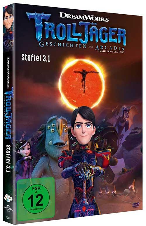 Trolljäger – Geschichten aus Arcadia – Staffel 3.1 Serie 2021 DVD Cover shop kaufen