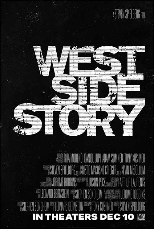 WEST SIDE STORY Film 2021 Kino Plakat