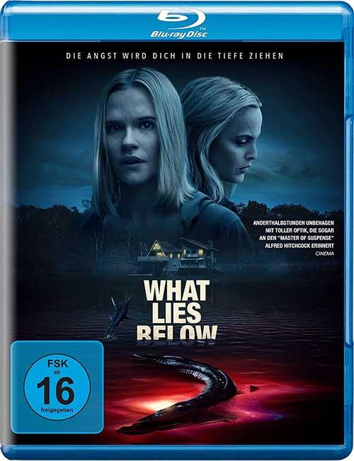 What Lies Below Film 2021 Blu-ray Cover Shop kaufen
