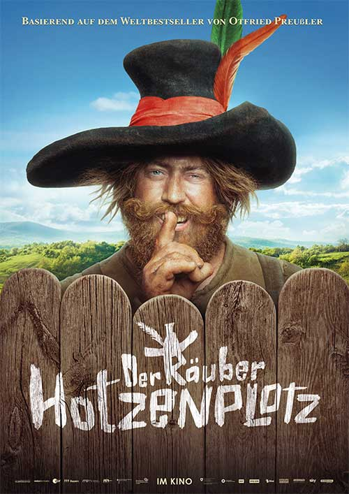 Der Räuber Hotzenplotz! Film 2022 Kino Plakat