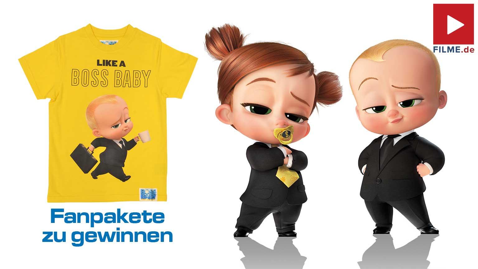 BOSS BABY 2 – Schluss mit Kindergarten Gewinnspiel gewinnen T-Shirts Artikelbild