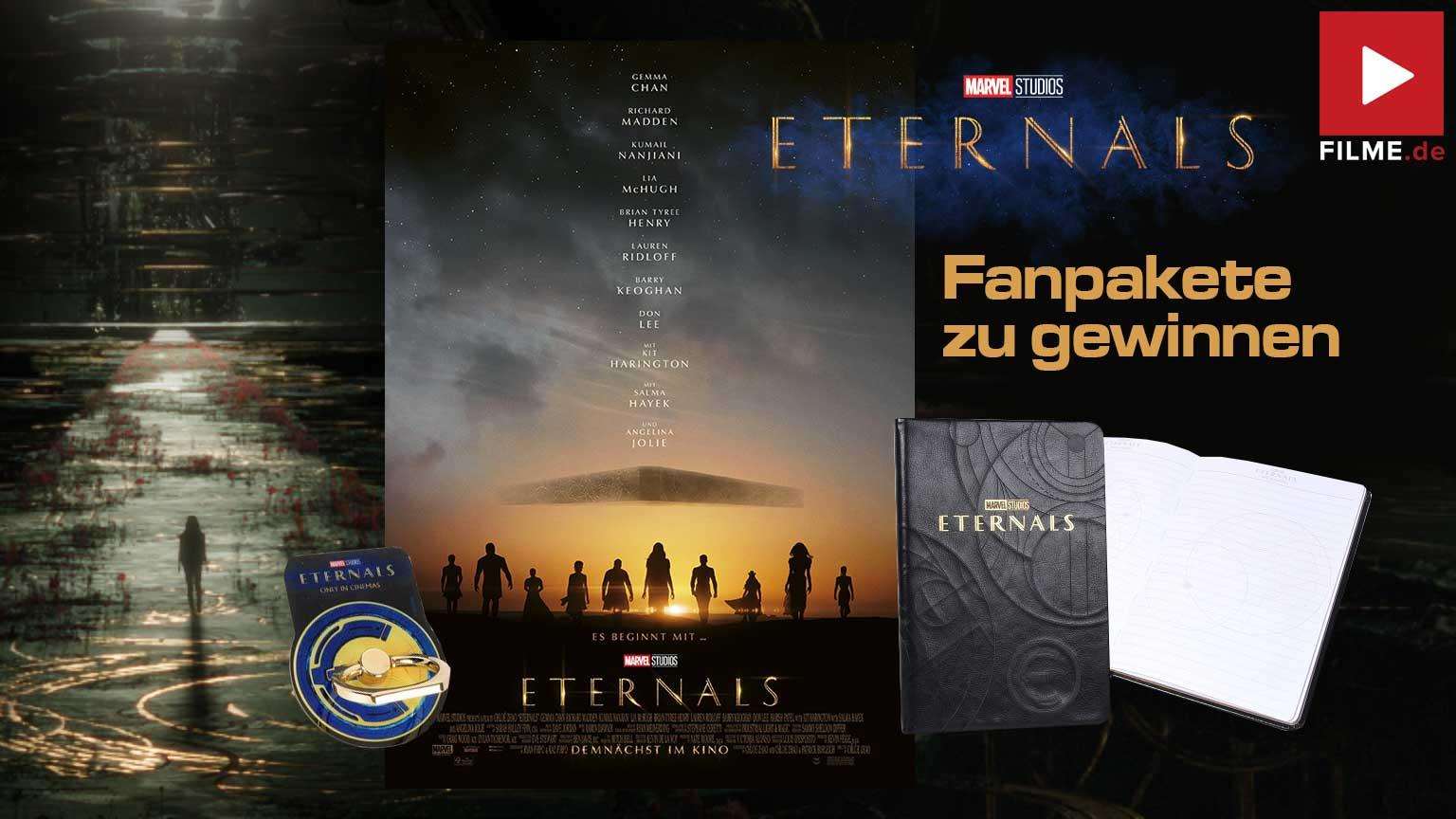 ETERNALS Gewinnspiel gewinnen Film 2021 Fanpakete Artikelbild