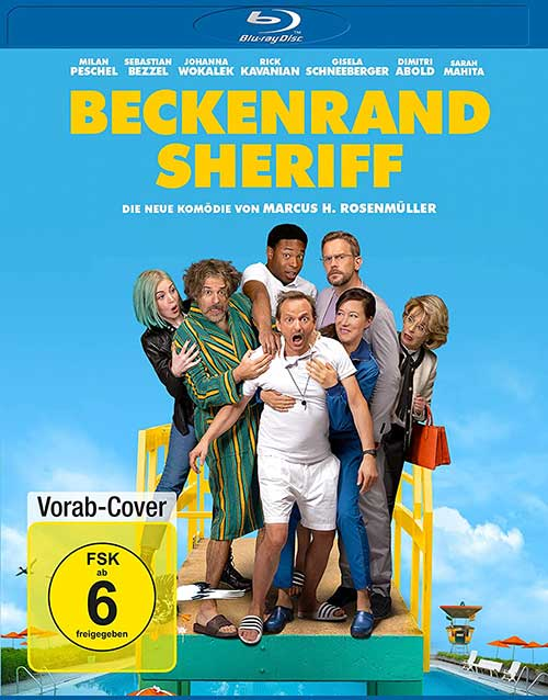 Beckenrand Sheriff Film 2021 Blu-ray Cover shop kaufen