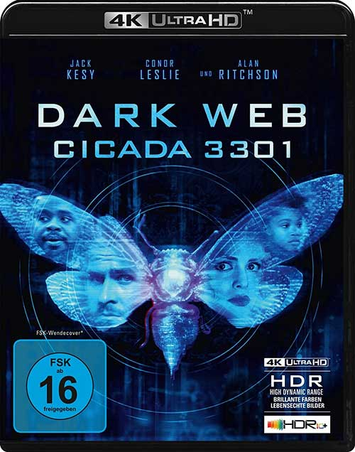 Dark Web: Cicada 3301 Film 2021 4K UHD Cover shop kaufen