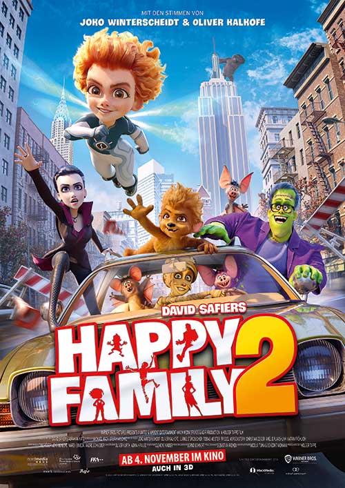 HAPPY FAMILY 2 Film 2021 Kino Plakat