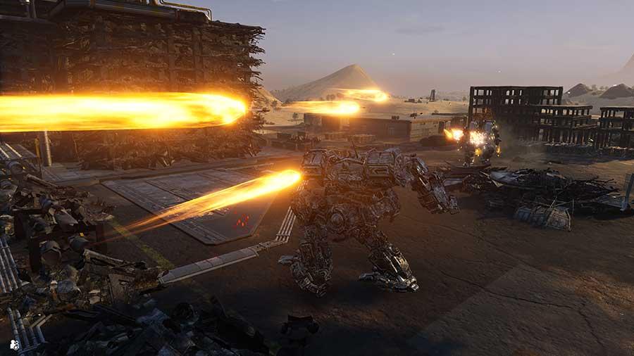 MechWarrior 5: Mercenaries - PS5 Review Szenenbild