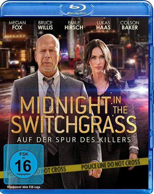 Midnight in the Switchgrass - Auf der Spur des Killers Film 2021 Blu-ray Cover shop kaufen